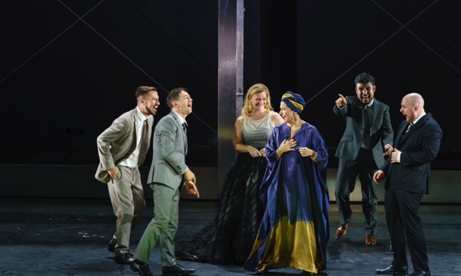 Glorious musicality in Handel's Agrippina succumbs to a frenetic Royal Opera production