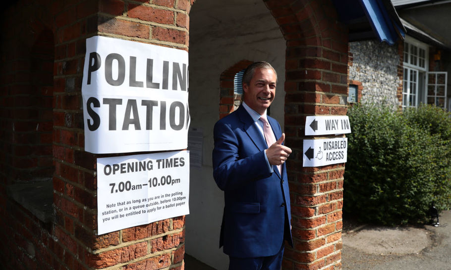 Will Nigel Farage snatch defeat from the jaws of victory?