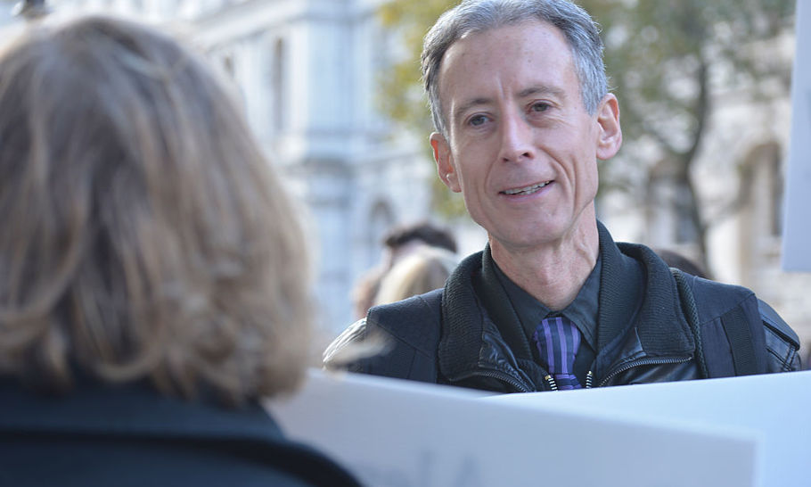 Peter Tatchell dismisses feminists like me as