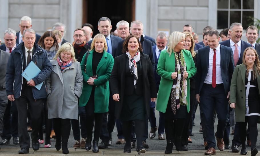 Sinn Fein's Marxist takeover