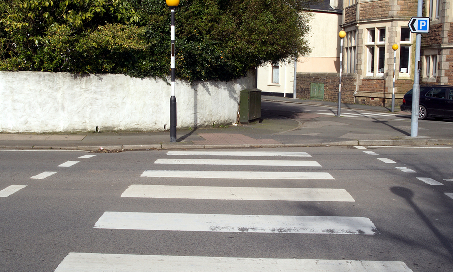 The forgotten rules of the zebra crossing