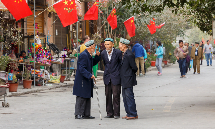 A growing economy is key to China's control of Xinjiang