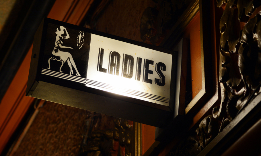 Women-only toilets — there should be a law