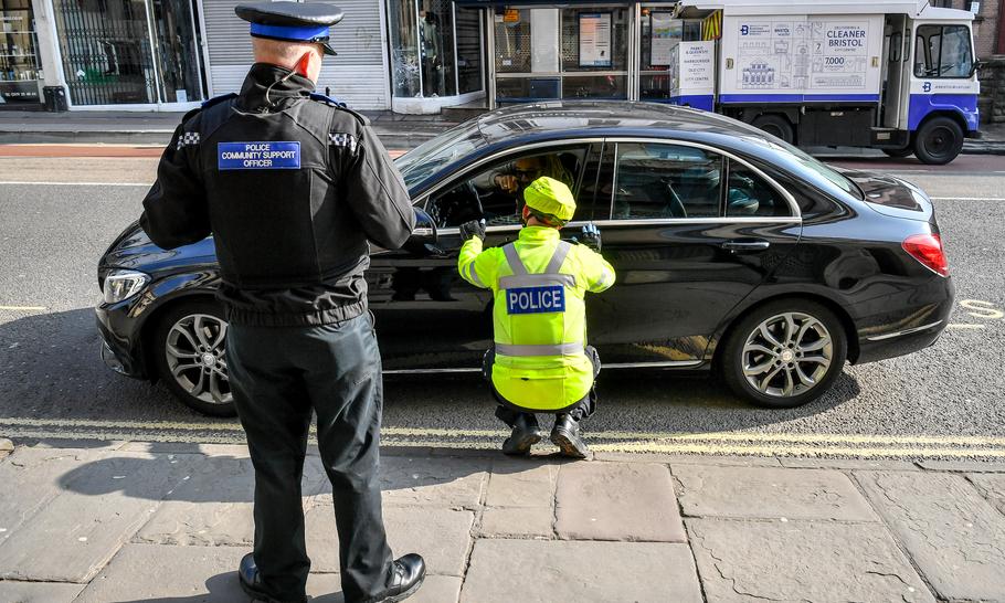 Policing the coronavirus lockdown