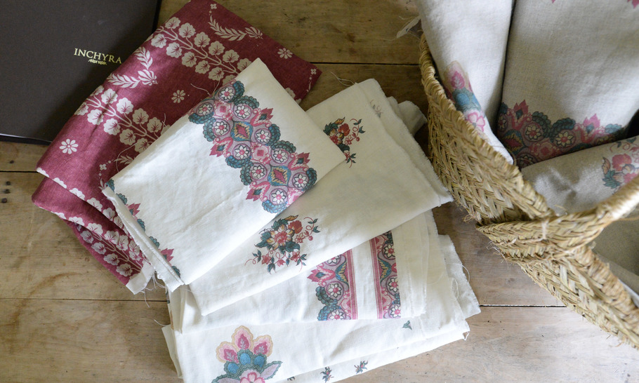 Inchyra: marrying the beauty of old linens with the quality of new ones