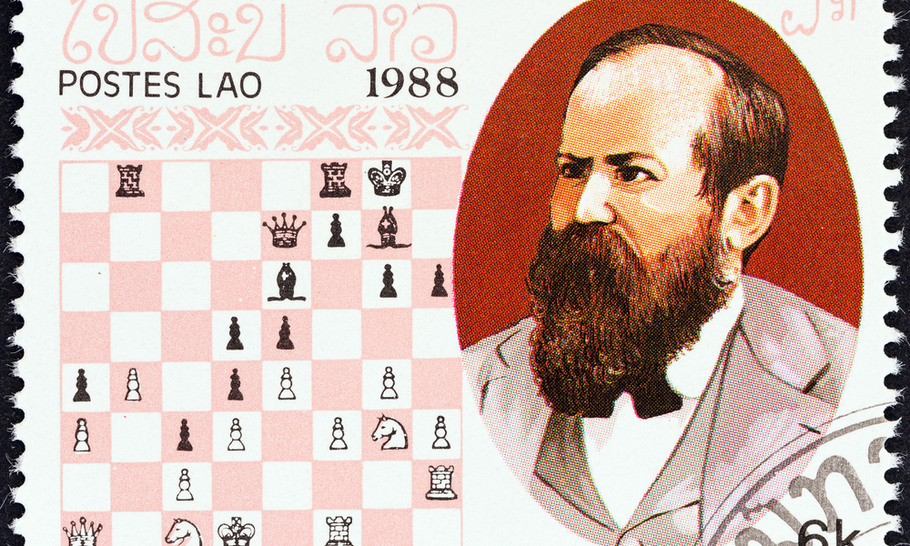 Chess, comic books and the first
