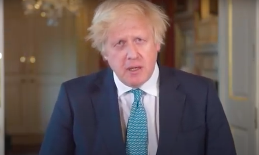 Johnson's bunker-TV address — they just don't get it