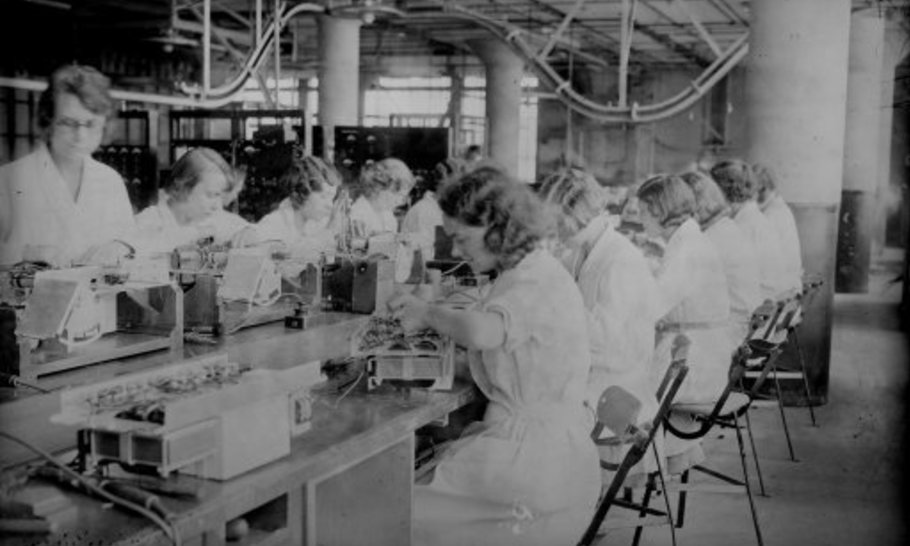 Manufacturers ended the 1930s depression. We can do it again