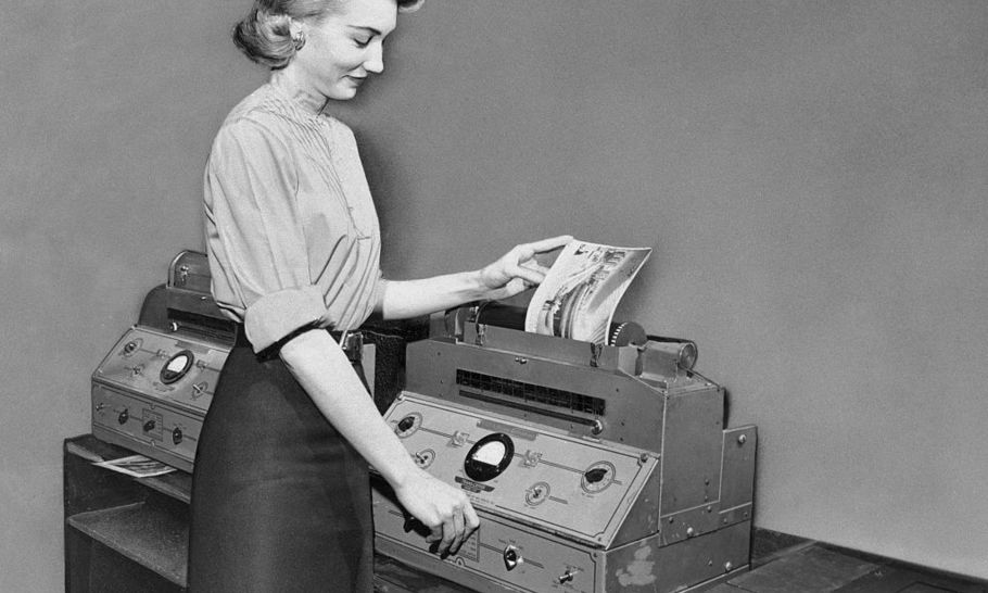 The rise and fall of the fax machine
