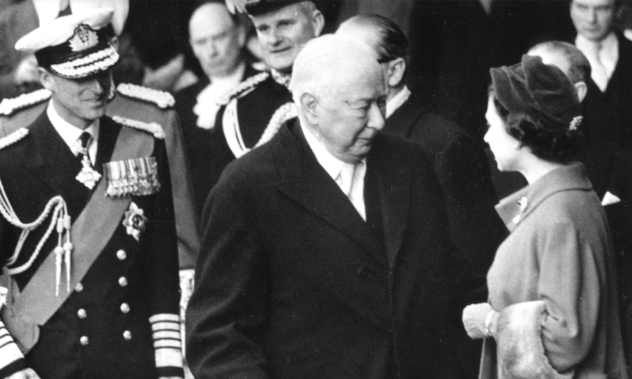 Did West Germany's first postwar President spy for the US?
