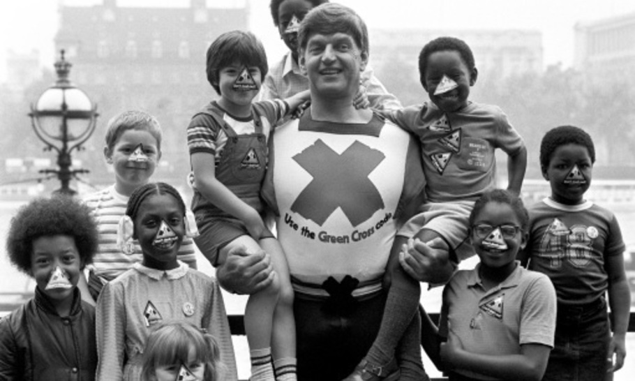 Working out with Dave Prowse: A tribute