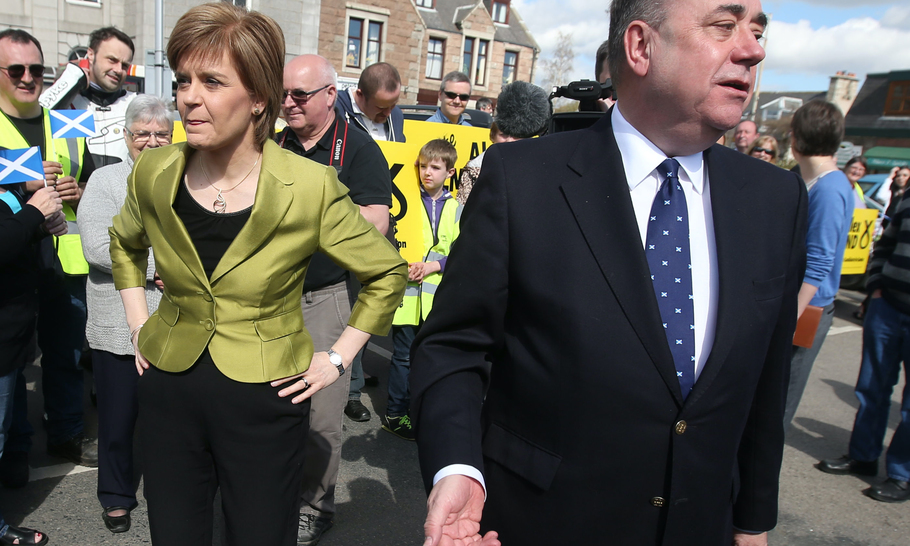 The feud of Sturgeon and Salmond could ruin the SNP's separatist cause