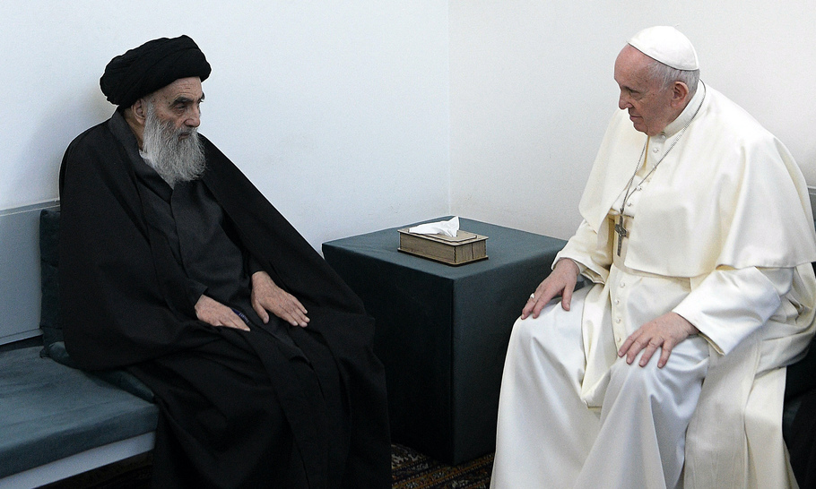 When Pope and Grand Ayatollah meet, there is hope for all Iraqis