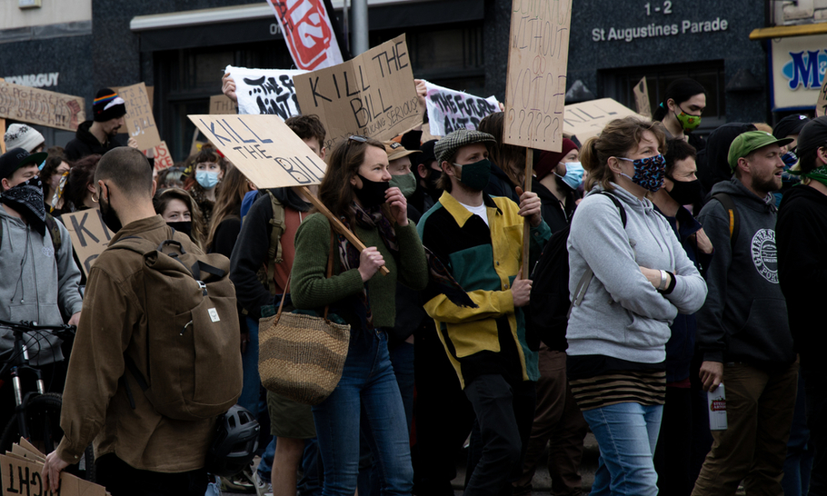 Protest and the media: an alternative narrative of policing in Bristol