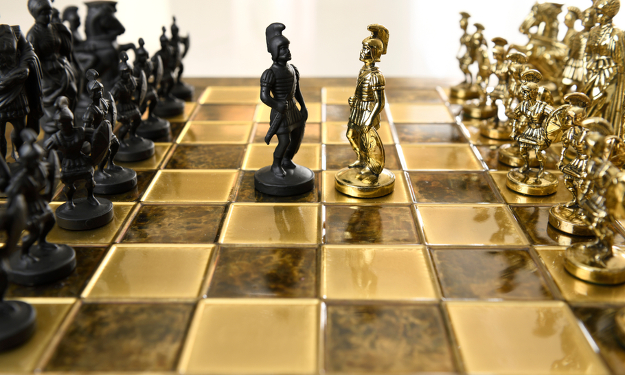 War games: Battlefield strategy and the game of chess