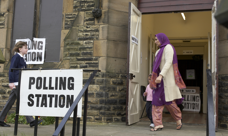 Is access to voting a party political issue?
