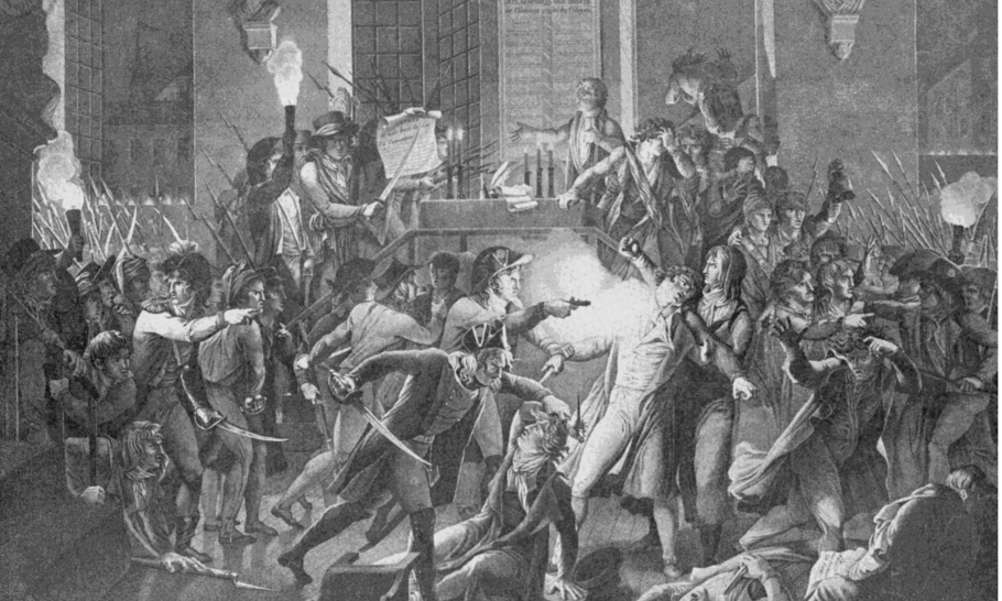 The French Revolution versus the October Revolution