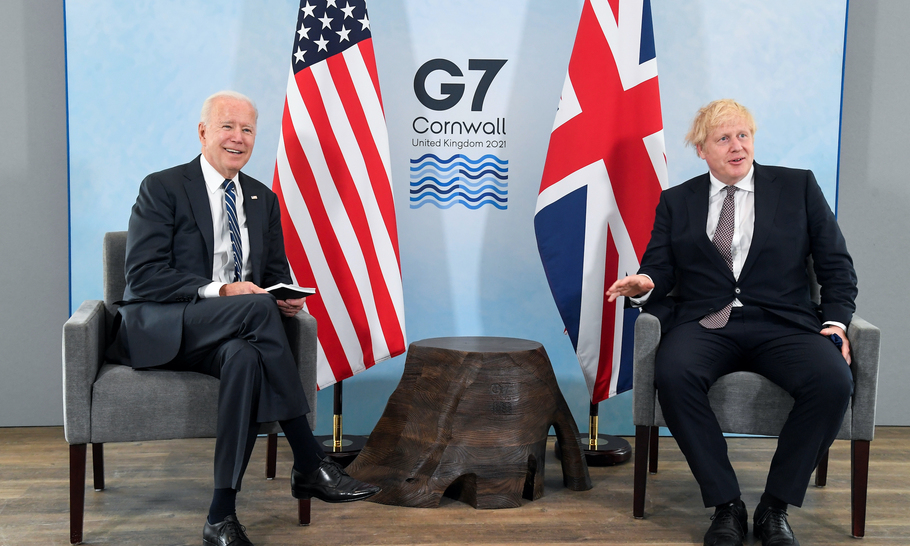 Boris blew it at Carbis Bay — but so did the rest of the G7