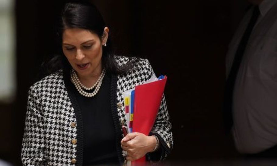 As illegal migrants arrive in record numbers, the heat is on Priti Patel