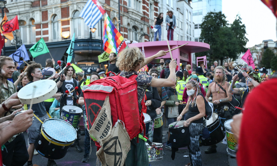 Will London put up with protesters who think they are above the law?