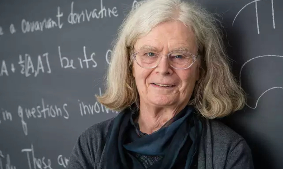 Three cheers for Karen Uhlenbeck, the first woman to win the prestigious Abel maths award