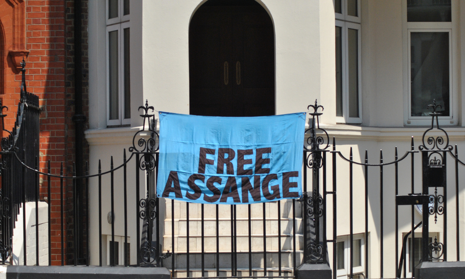 From the arrest of Assange to the fall of dictators, we cannot evade eternal moral truths