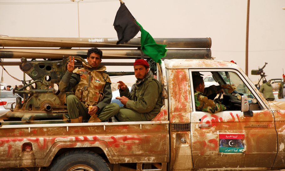 Putting the lid back on the cauldron that is Libya will take a very long time indeed