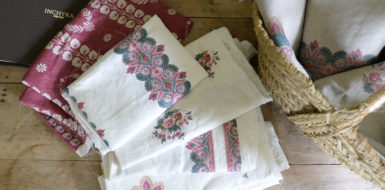 The Article: Inchyra: marrying the beauty of old linens with the quality of new ones