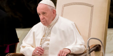 The Article: Pope Francis has waded in to European politics