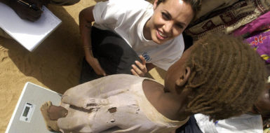 The Article: It's great that celebs like Angelina Jolie want to help the poor. But how useful are their visits to Africa?