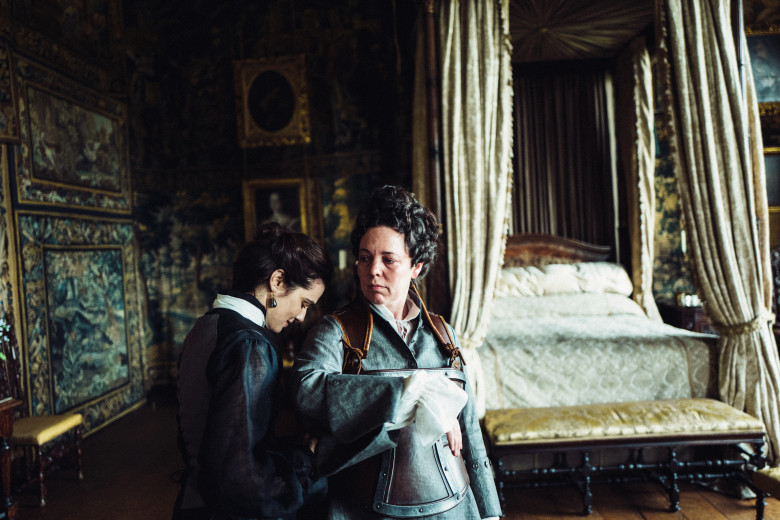 The Article: The Favourite: at last we're seeing lesbianism take centre stage in popular culture