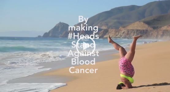 Headstands against Blood Cancer