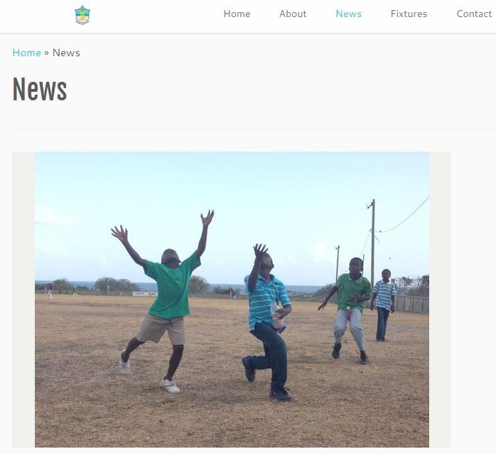 Urlings Cricket Club website created by marketing volunteer