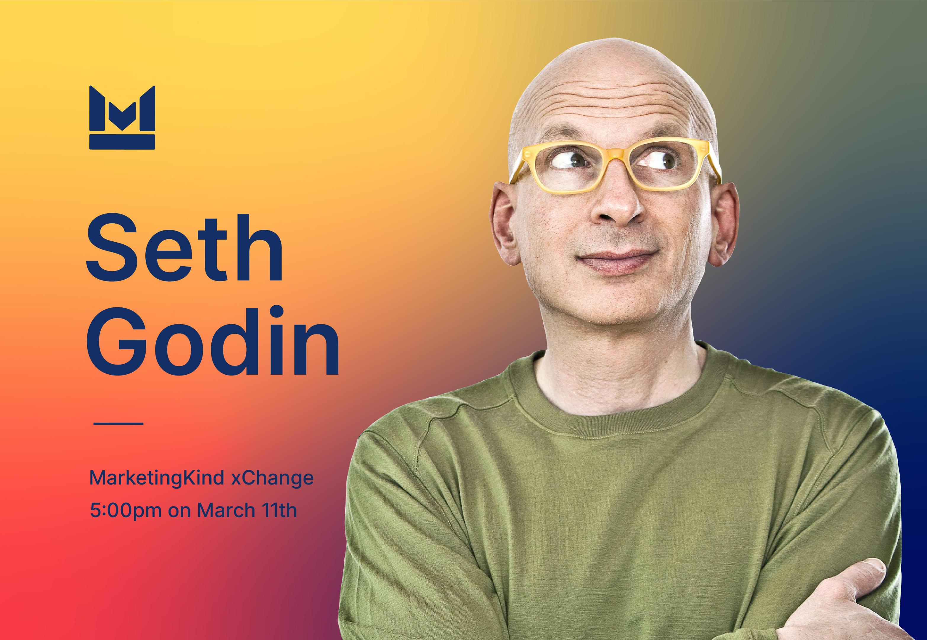 Creating Change with Seth Godin News Post Image