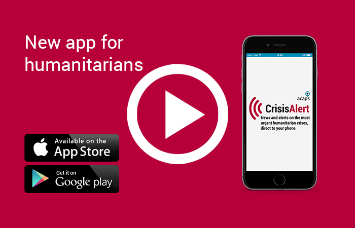 Marketing strategy supports launch of humanitarian crisis app News Post Image