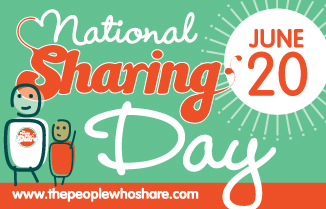 Supporting National Sharing Day Hero Image