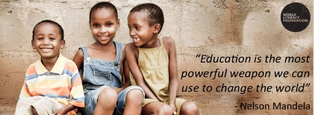 Communications Support for World Literacy Foundation Hero Image