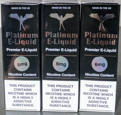 3x10ml platinum e-liquid