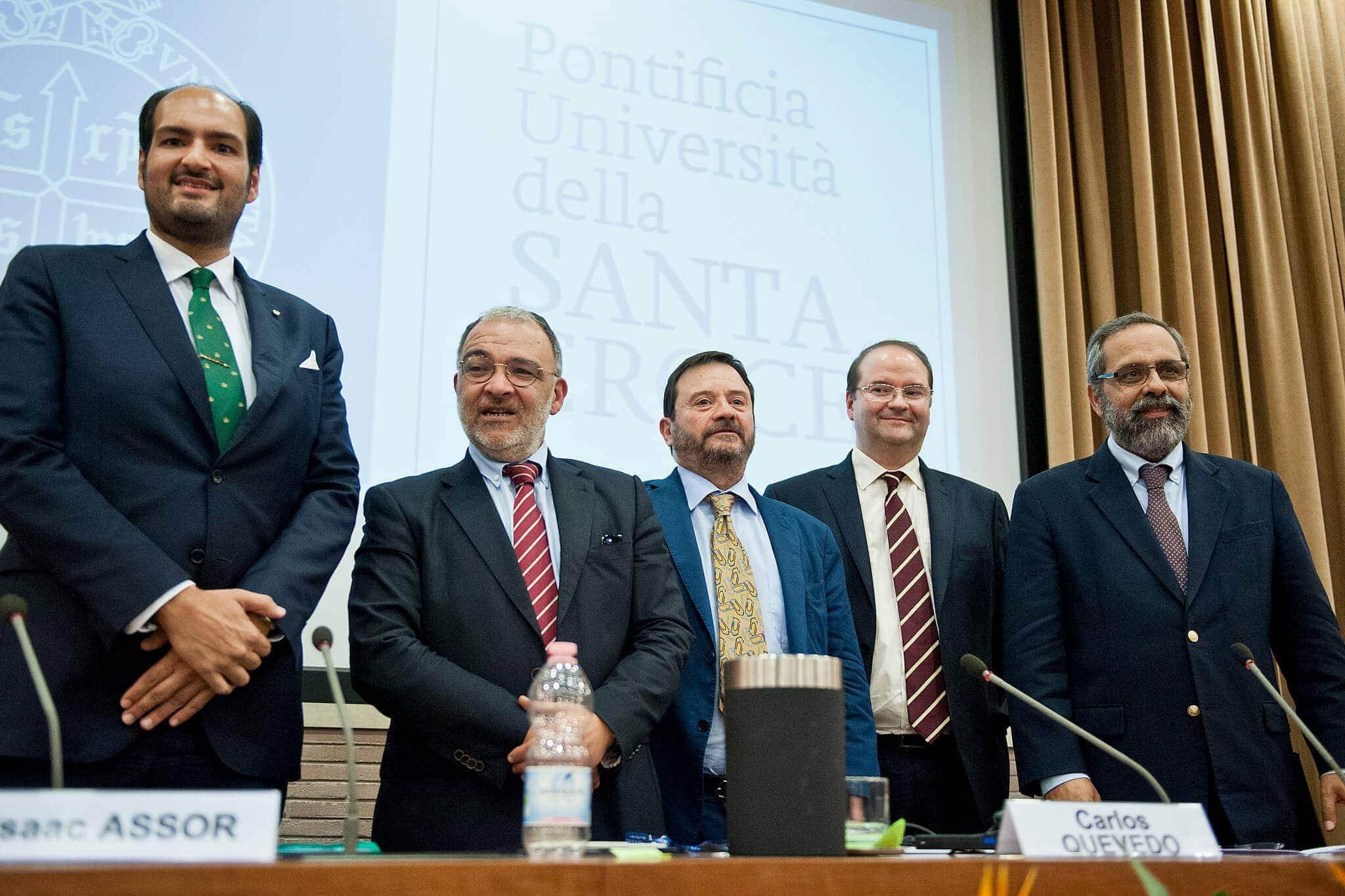 Fotografias: Pontifícia Universidade da Santa Cruz