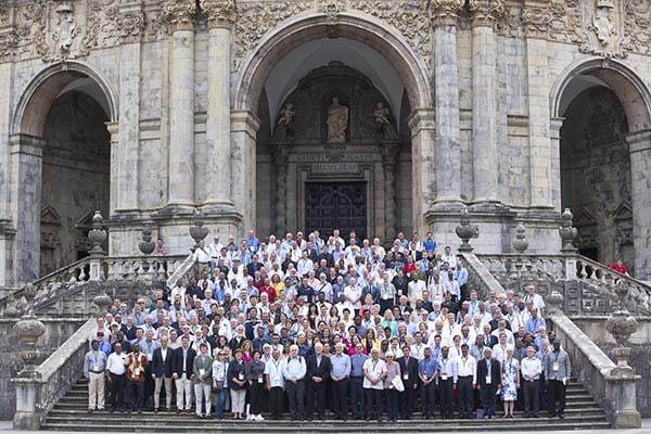 Paticipantes do Encontro Internacional das Universidades Jesuítas que decorreu em Bilbao