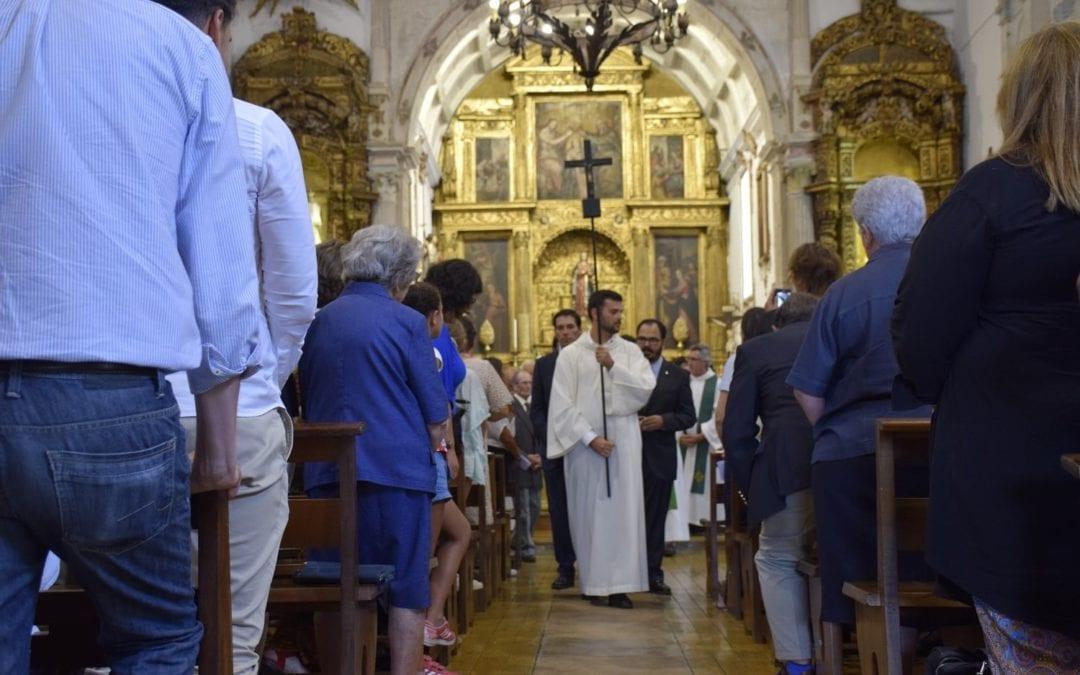 Quatro noviços jesuítas fizeram primeiros votos