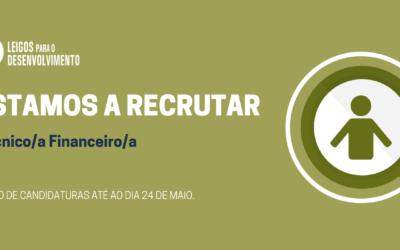 RESPONSÁVEL FINANCEIRO – Novo Recrutamento