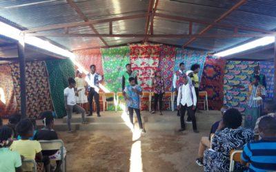 """Peça de Teatro """"A Voz da Comunidade"""" conta a história do Grupo Comunitário do Bairro da Graça"""