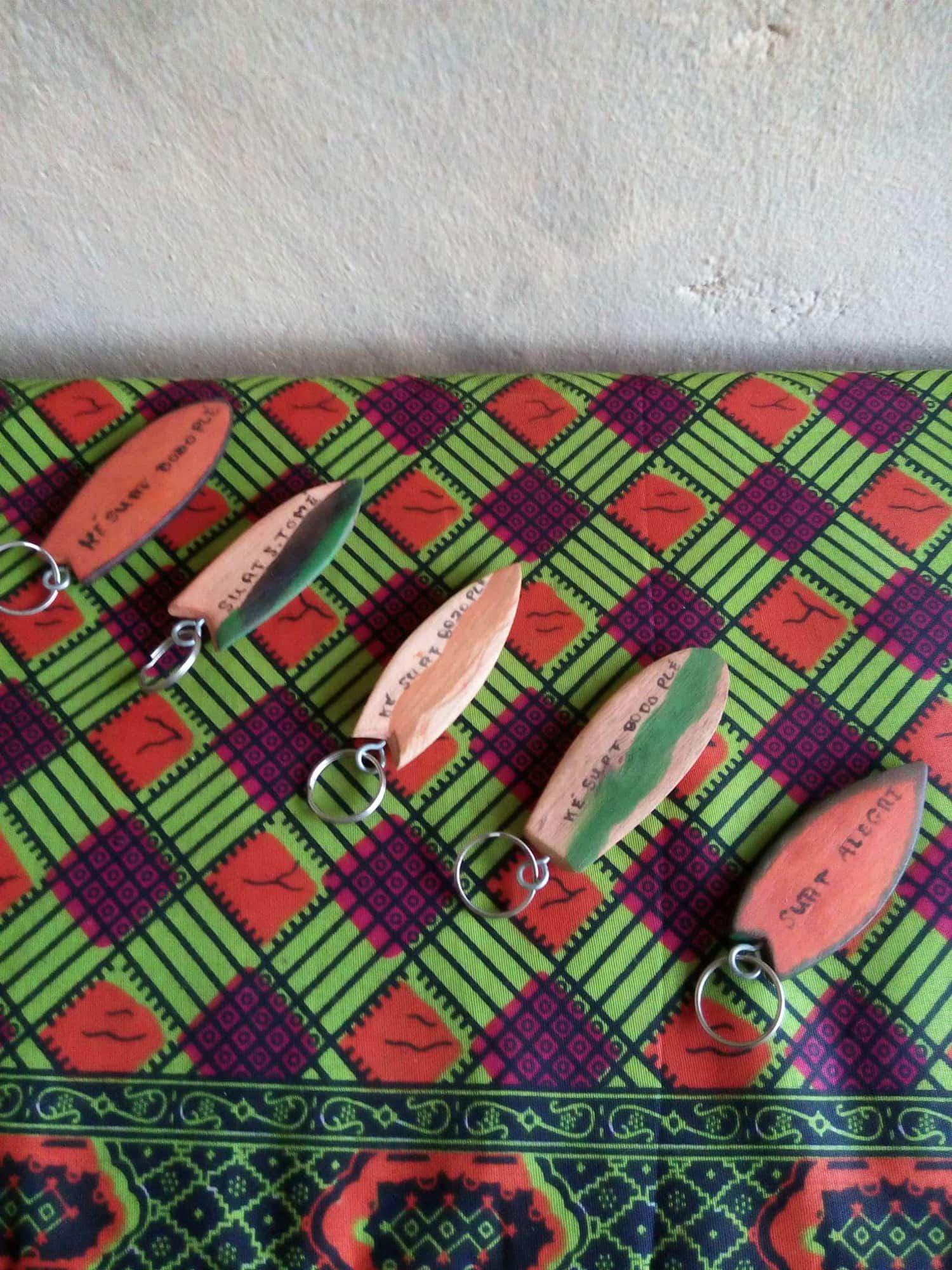 porta-chaves prancha de surf