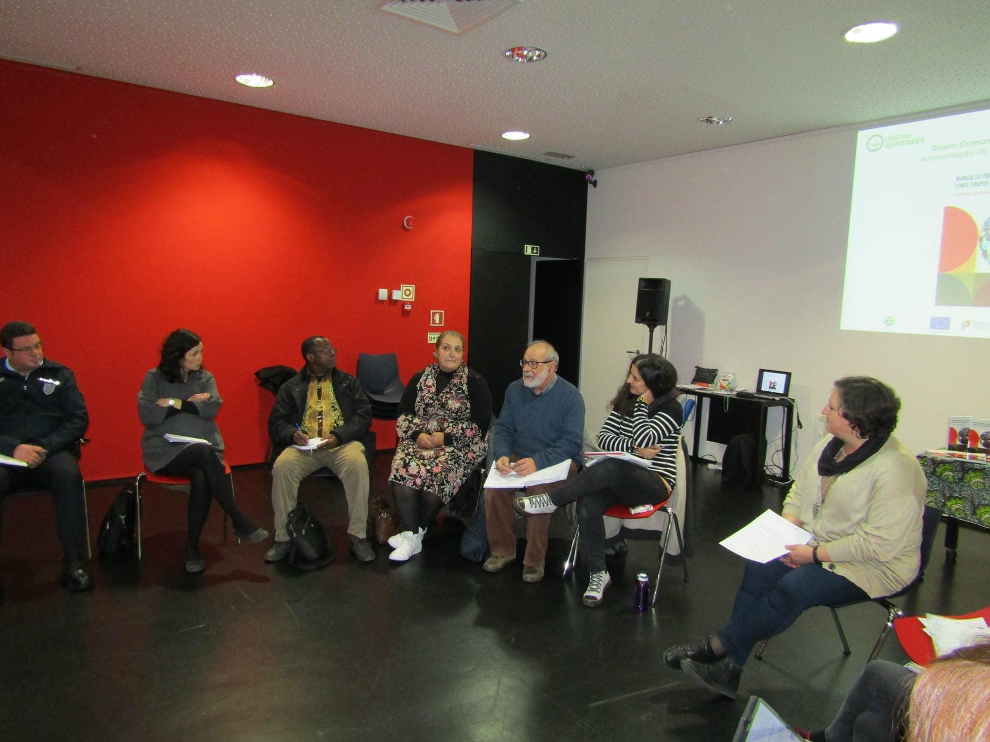 Lançamento do Manual de Grupos Comunitários na Missão da Caparica-Pragal
