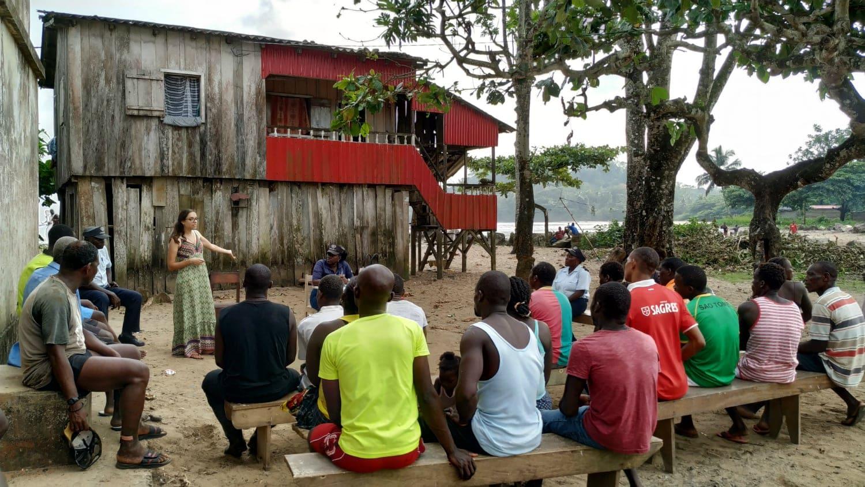 Ação de Sensibilização São Tomé