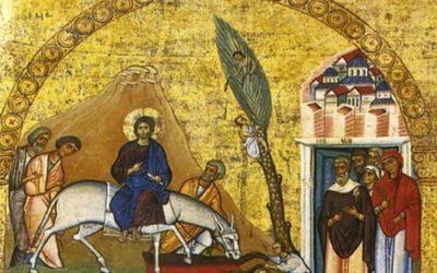 Domingo de Ramos na Paixão do Senhor