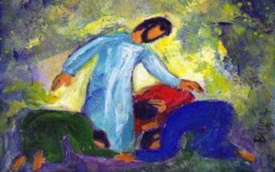Com Jesus no alto do monte