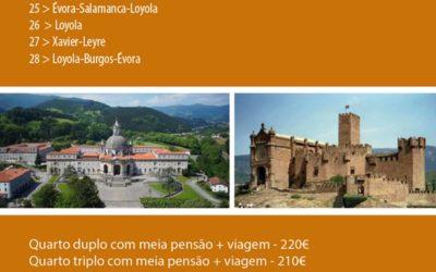 Peregrinação Loyola-Xavier Últimas Vagas!