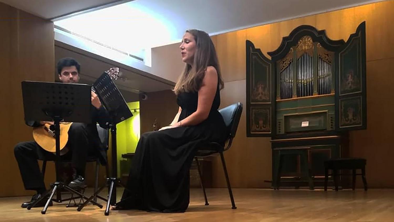 Concerto - Diálogo a 3: soprano, guitarra e órgão